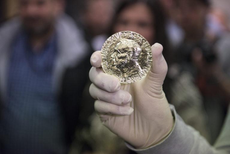 Nobels fredspris preget ved Det Norske Myntverket, ble fra år 2015 preget i rettferdig fairmined gull.