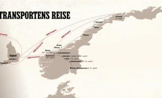 Gulltransporten, evakueringen av Norges Banks gullbeholdning 9.april 1940