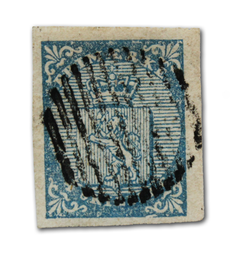 4 skilling fra 1855