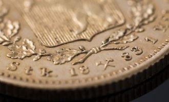 Kong Oscar IIs gullmynt fra 1883 - Norges sjeldneste 20 kronemynt