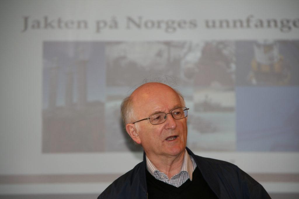 Professor Torgrim Titlestad om slaget ved Hafrsfjord