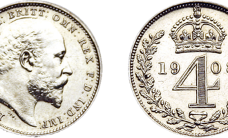 Skjærtorsdagmyntene Edward VII