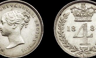 Skjærtorsdagmynter, Dronning Victoria
