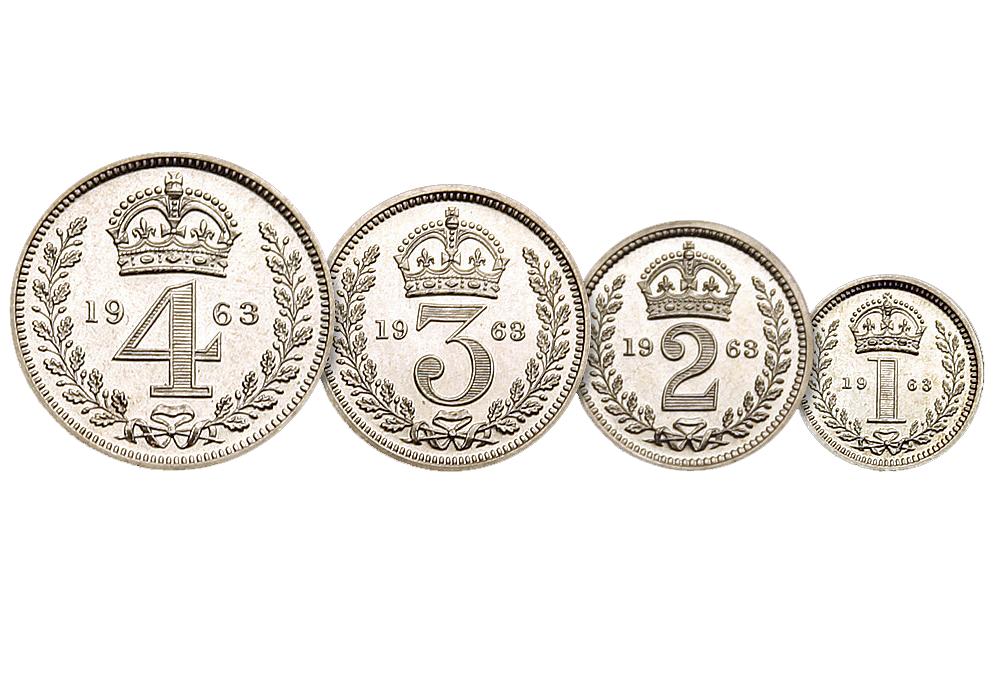 Skjærtorsdagmyntene, Dronning Elizabeth II, 1963
