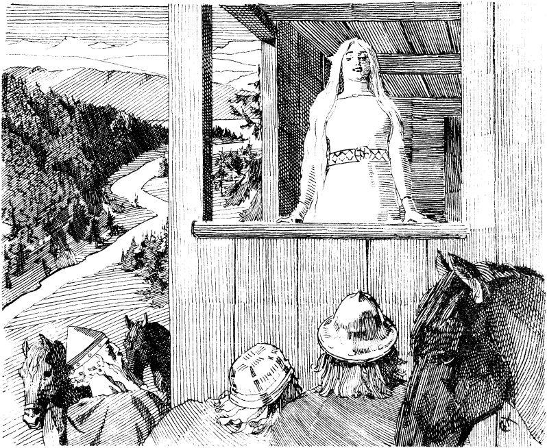 Harald Hårfagre Gyda Eiriksdatter
