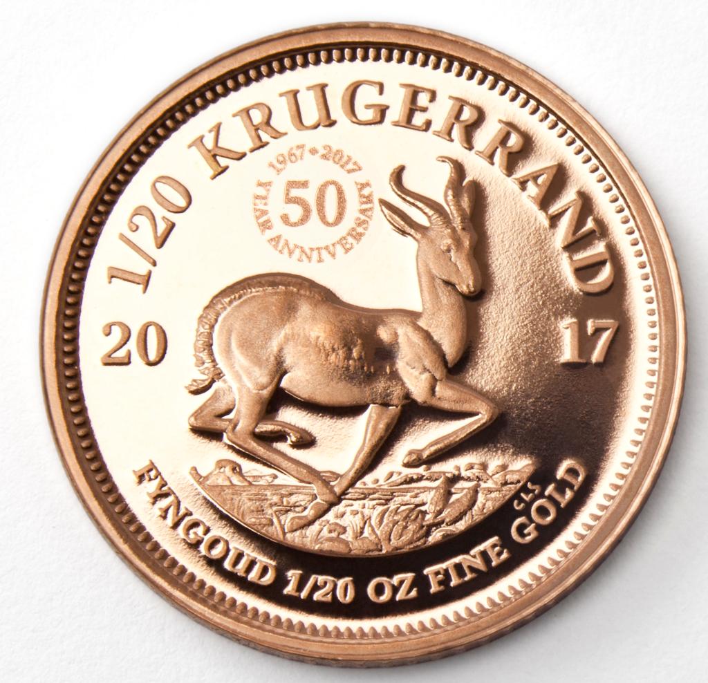 Krugerrand, blant verdens mest kjente og populære gullmynter