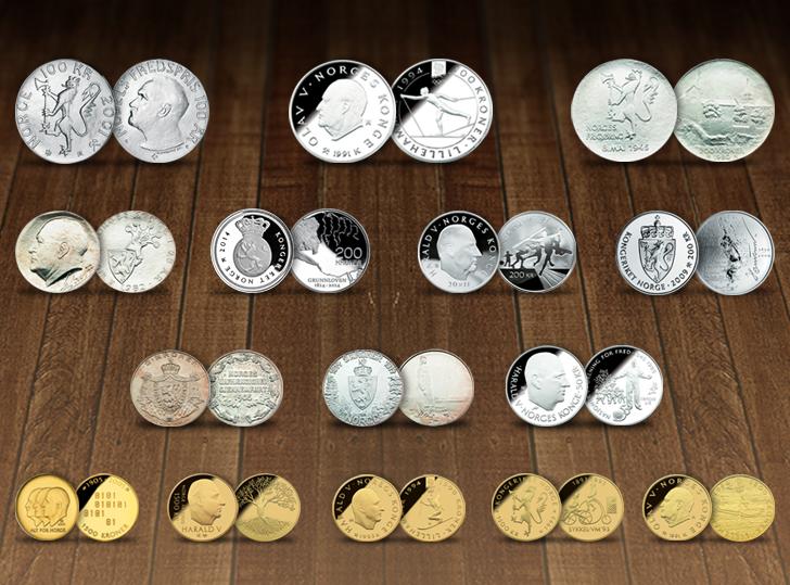 Samlerhuset minnemynter i sentralbankloven