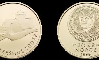 Den norske turistforening, Norges Bank, minnemynt spesialpreg