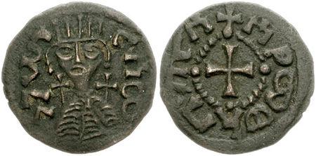 kjent fra mynter, kongedømmet Aksum, mynt profil