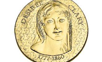Myntbrev minnemynt Désirée Clary