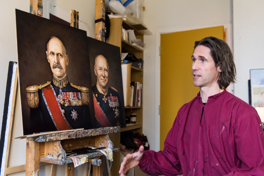 Ross Kolby og to frigjøringskonger - Haakon VII og Harald V