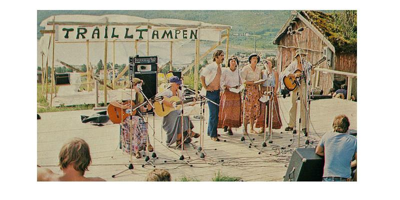 syttiårene kassegitar Tråilltampen visesanger festivaler Norge
