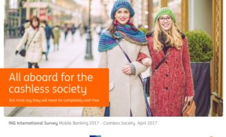 Forsiden til IMGs undersøkelse. Der står det at om alle er klare for et kontantfritt samfunn, mener flesteparten at de ikke ønsker det.