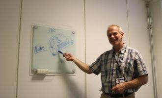 Sigbjørn Daasvatn i Funn i Hafrsfjord forklarer mulig taktikk ved slaget i Hafrsfjord