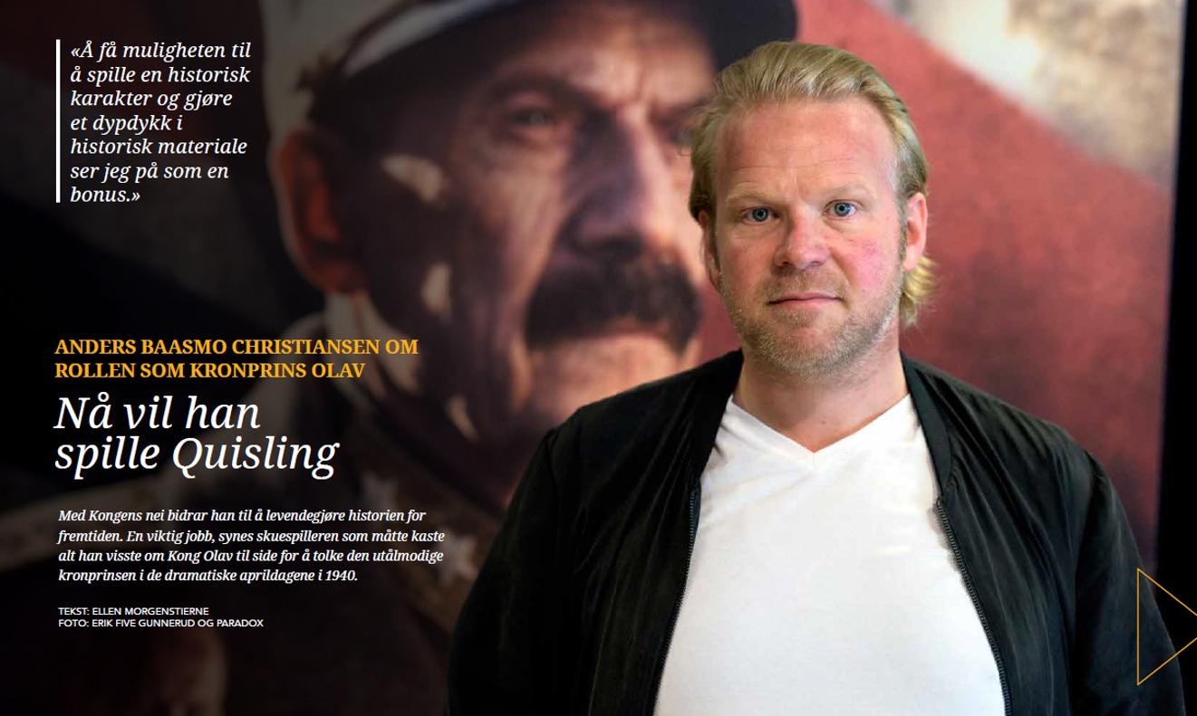 Anders Baasmo Christiansen Kongens Nei premiere