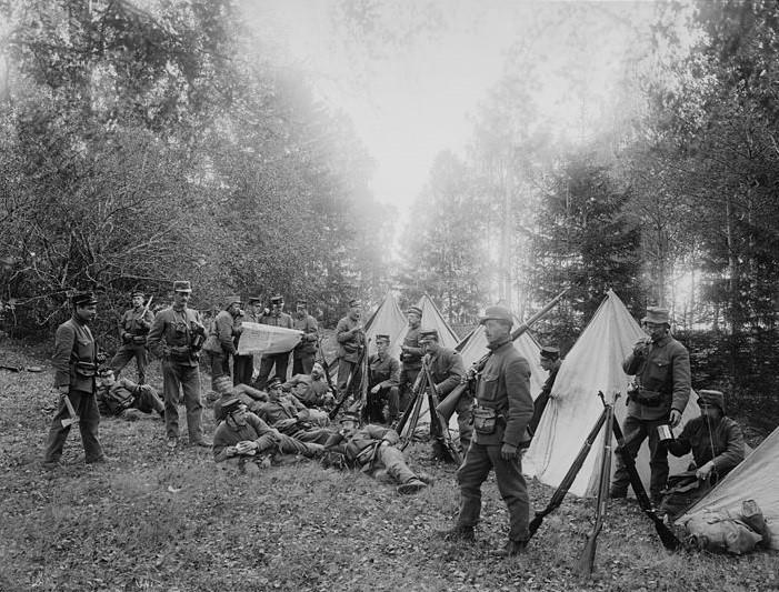 Grensevaktene under unionsoppløsningen 1905