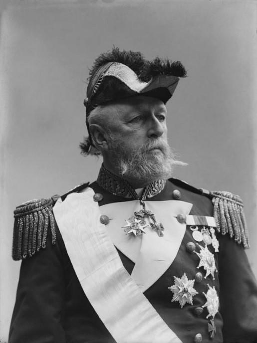 Bilde av Oscar II i full paradeuniform