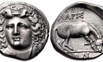 Larissa antikke mynter