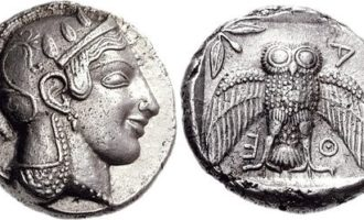 antikke mynter tetradrakme