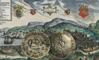 Her kan du lese om norske mynter i dansketiden fra penning til daler.