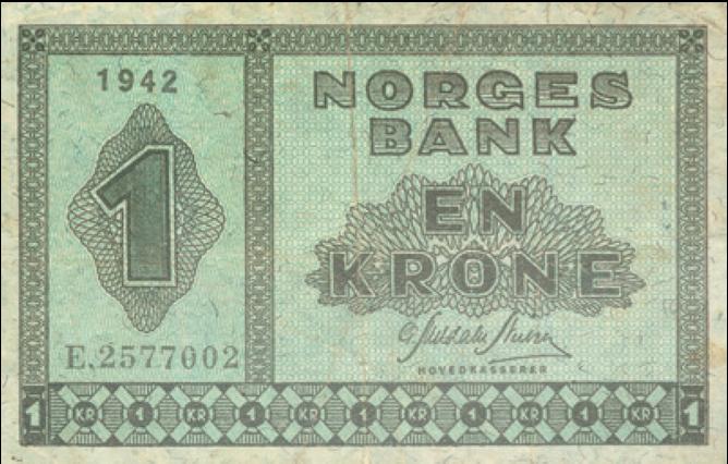 Les om norske krigssedler i denne artikkelen!