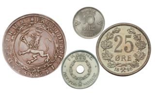 Les mer om den spennende utviklingen til symboler på norske mynter her!