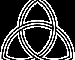 Trikvetra med tre ovaler