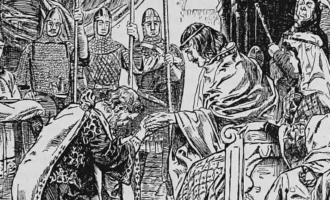 Norges gærne historie. Dårlig med adelsmenn