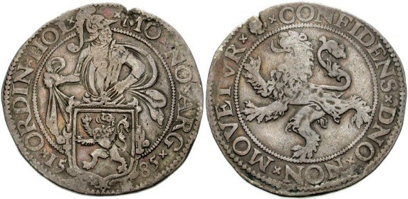 Gamle mynter har mange navn. Leu og Lev fikk navn av leeuwendaadler.