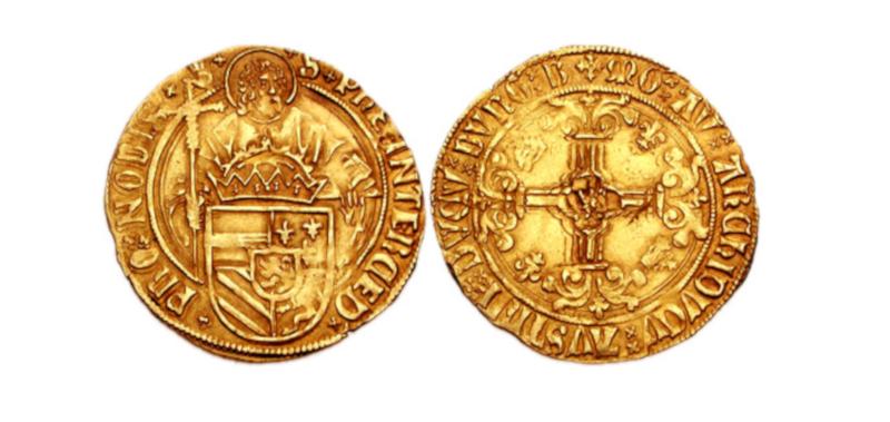 Gullmynt funnet i Vennesla, Israel og Kent