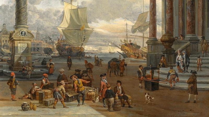 Handelsmynter ble ofte brukt i stormaktene på 1700- og 1800-tallet.