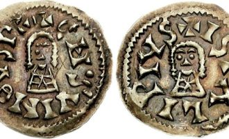 Mynter i middelalderen kan ha startet med visigotiske mynter i vekslende kvalitet.