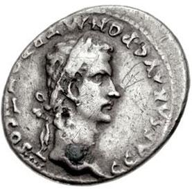 Sjeldne mynter fra Romerriket inkluderer i høyeste grad denne denariusen fra Caligula.