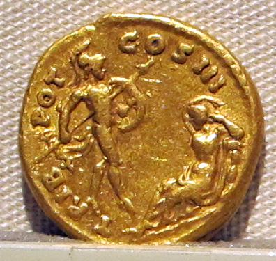 Greske guder: Ares og Afrodite på gullmynt