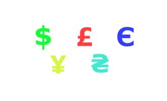 symboler på valutaer har eksistert lenge for noen mynter, men er sjeldnere for andre