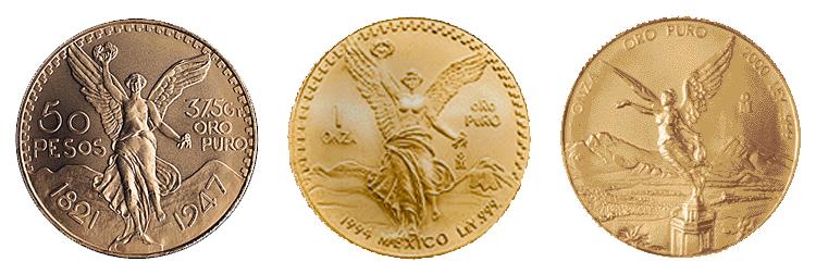 Mexico har en lang historie med å prege gullmynter.