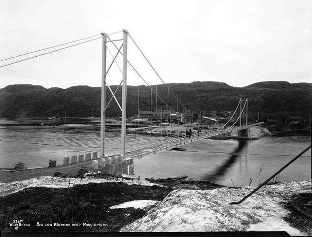 Elvenes bro ble ødelagt av tyskerne
