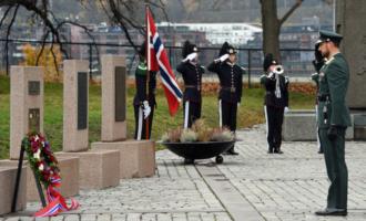 Forsvarets minnedag her fra 2018.