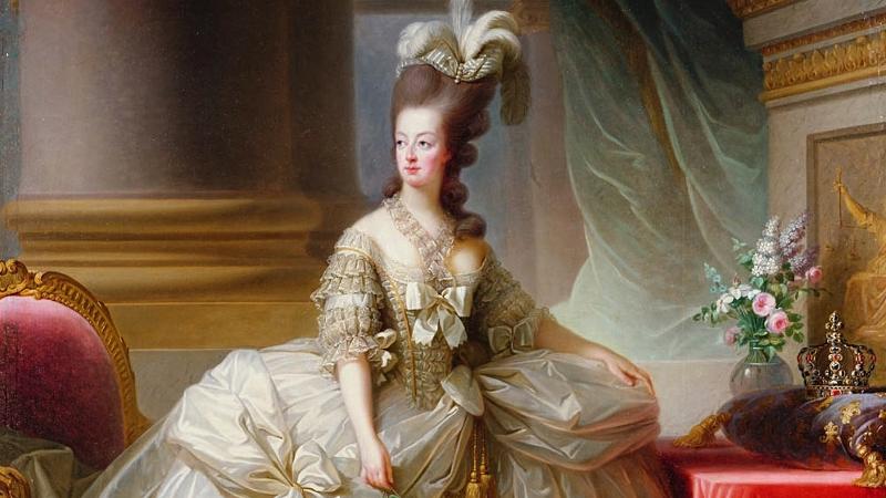Marie Antoinette fra 1770-tallet