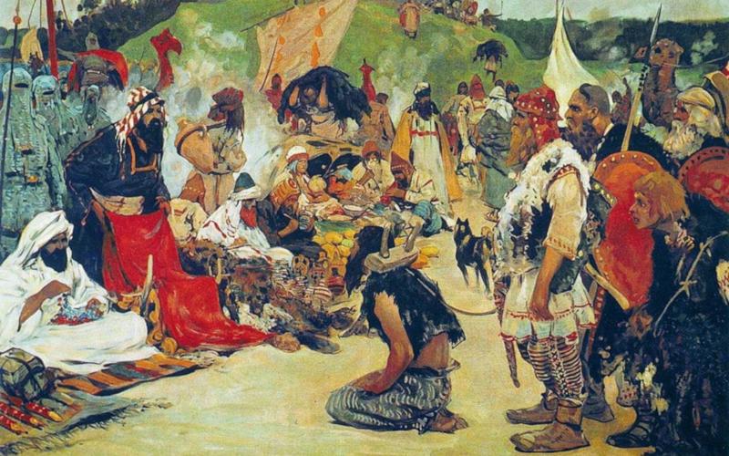 Vikingene solgte slaver i store mengder med arabiske og persiske kjøpmenn