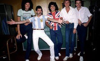 Queen og Diego Maradona i Argentina