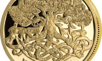 Mynter vil fra nå av preges i rettferdig gull