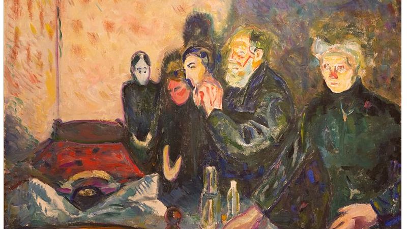 """Vårens quiz 2020 - Munch malte mange følelser, som """"Dødskamp"""". Men hva malte han IKKE?"""