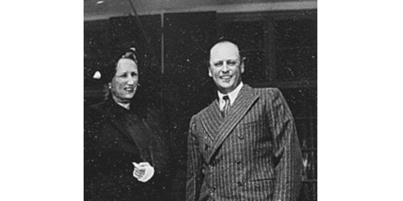 kronprinsese Märtha og kronprins Olav