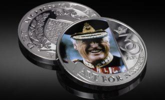 Tronskiftemedaljene kom etter denne medaljen, som ble tilbudt våre kundre fra midten av desember.