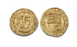 Nederlandsk kopi av Ferdinand og Isabella-excelente