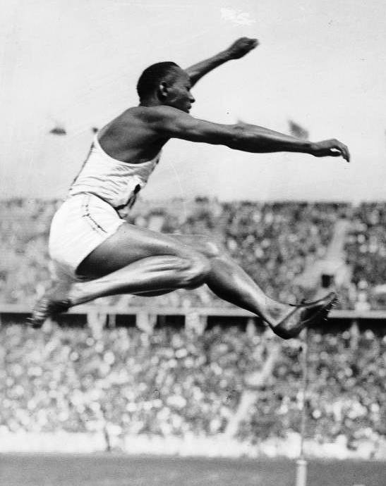 Samlerhuwet olympiske leker i Berlin Jesse Owens Bundesarchiv
