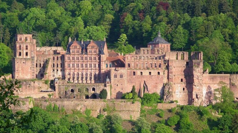 Samlerhuset Heidelberg slott betalt gjennom juks med mynter Foto: Reinhard Wolf