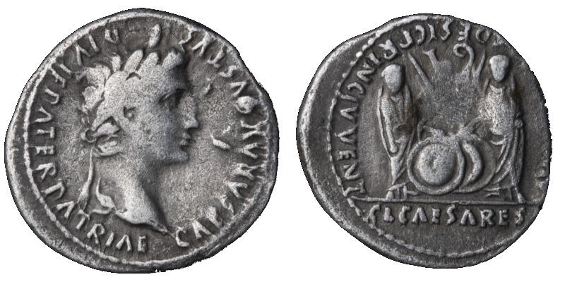Samlerhuset historien om denaren med Gaius og Julius