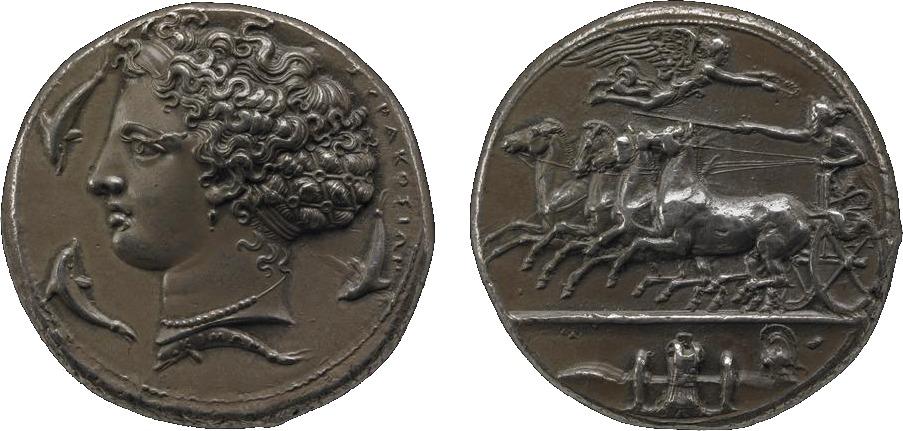 Samlerhuset dekadrakme Trustees of the British Museum